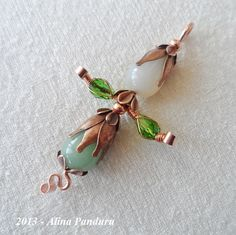 Red Fir Forest Elf - For Heike... :) | JewelryLessons.com