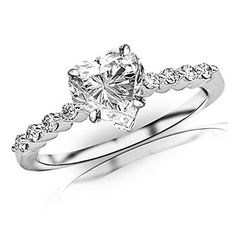 0.65 Carat t.w. GIA Certified Heart Cut 14K White Gold Floating Prong Set Round Diamond Engagement Ring (I-J Color SI1-SI2 Clarity) Houston Diamond District http://www.amazon.com/dp/B014ZNC1L8/ref=cm_sw_r_pi_dp_rOQgwb1KYG1EV