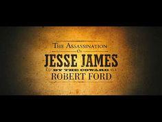 Assassination of Jesse James trailer title