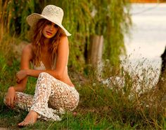 Crochet bathing suit  A must for the fashionnista!