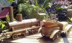 Rumah Kreatif (Amin) - Bamboo Toys - Train and Car