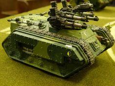 Koloth 51st Chimerax IFSV. Wargear: turret/quad-autocannon, glacis/heavy-bolter. by SentinelV.