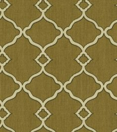 Waverly Sun N Shade Outdoor Fabric-Chippendale Fretwork Mocha: outdoor fabric: home decor fabric: fabric: Shop   Joann.com