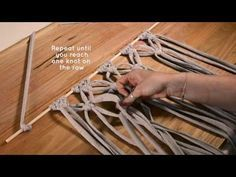 DIY Macrame Wall Hanging tutorial - Free Macrame Pattern Explained- DIY Craft - YouTube