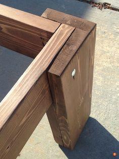 Diy Furniture Table, Diy Furniture Plans, Diy Furniture Projects, Woodworking Projects Diy, Woodworking Furniture, Diy Wood Projects, Furniture Makeover, Woodworking Plans, Wood Furniture