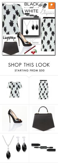 """POPMAP  97. / II"" by esma178 ❤ liked on Polyvore featuring Balenciaga, Jerome C. Rousseau, Bobbi Brown Cosmetics and popmap"