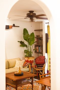 House Tour: Vasanti's Creative and Cozy Silverlake Home | Apartment Therapy