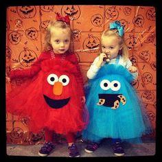 Наряжаем близнецов на Хэллоуин (21 фото)