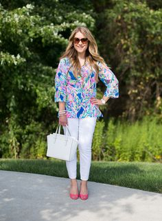 Summer Style Weekly Linkup #33: Lilly Pulitzer - Mix & Match Fashion