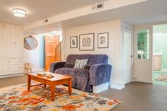 48 Beach Style Style Basement Designs | FurnitureX.net