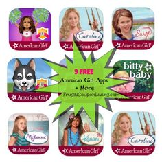 FREE American Girl Apps | 9 FREE Apps and  More Download Options #AmericanGirl #FREE #HOTDEALS