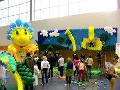 The Fifi Large Balloon Sculpture: The End  - Fifi Óriásszobor Lebontása 5 nappal később. Itt már nem vettünk részt, de azért érdekes.