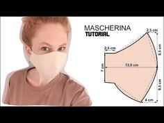 Mascherina di stoffa fai da te - YouTube Techniques Couture, Sewing Techniques, Easy Face Masks, Diy Face Mask, Sewing Hacks, Sewing Tutorials, Easy Sewing Patterns, Diy Mask, Fashion Sewing