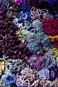 More coral crochet
