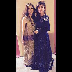 Syra Shyroz and Palwasha Yousuf