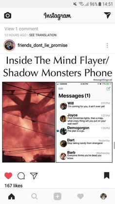 Yes, because monsters from D and D had iPhones in the 80s