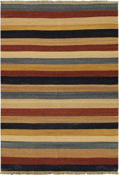 Fiesta Striped Area Rug