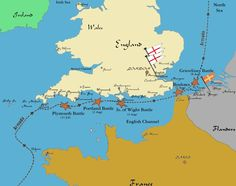 Spanish Armada - Map of 1588 Battle Locations World History Famous Historical Events Geography Viking Yachts, Bristol Channel, England Map, Map Worksheets, Irish Sea, Yacht For Sale, Spain And Portugal, North Sea, Historical Maps