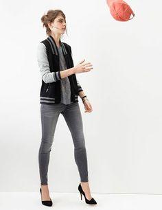varsity jacket- madewell