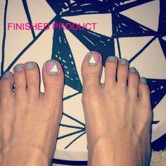 DIY NAIL STICKERS. Cute Toe Nails, Cute Toes, Diy Nails Stickers, Pedi, Nail Designs, Crafts, Inspiration, Biblical Inspiration, Manualidades