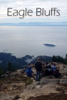 Eagle Bluffs near Black Mountain in Cypress Provincial Park is considered by many to be the best view in Vancouver. Bowen Island, Black Mountain, Canada, Mountain Hiking, Best Hikes, Holiday Destinations, Nice View, British Columbia, Adventure Time