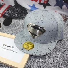 47546ec6dc3 2015 Latest Popular Hip-Hop Explosion Models S Logo Hats Unisex Fashion  Superman Baseball Cap