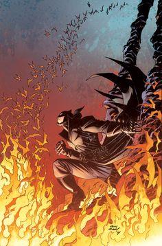 Andy Kubert - Damian is Batman___!!!