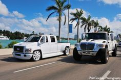 Lowrider GMC Topkick and the International MXT! Bad Ass.