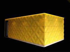Panel decorativo para decoración interior / de plástico / texturado / de efecto dimensional 108 YELLOW Kirei USA