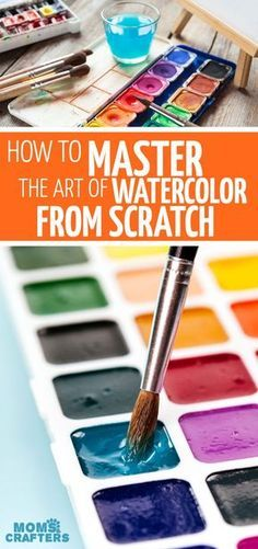 Painting Techniques Watercolor Art Projects 60 Ideas For 2019 Watercolor Beginner, Watercolor Paintings For Beginners, Step By Step Watercolor, Watercolor Tips, Watercolour Tutorials, Watercolor Techniques, Watercolor Art Lessons, Watercolor Pencils, Watercolor Water