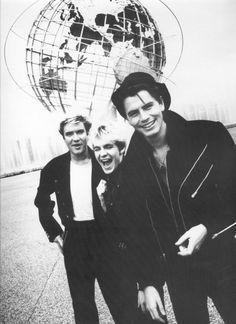 Simon, Nick and John