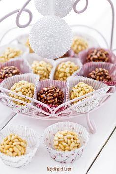 Szyszki z ryżu preparowanego Cereal, Sweets, Cakes, Baking, Breakfast, Food, Morning Coffee, Gummi Candy, Scan Bran Cake