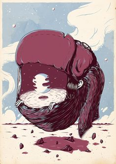 The Lost & Found 2 // Personal Illustrations by Christi du Toit, via Behance