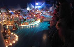 §§§ . Every year in Bergen, Norway, a replica of the city springs up in miniature. The Pepperkakebyen is created by thousands of school children all out of gingerbread.