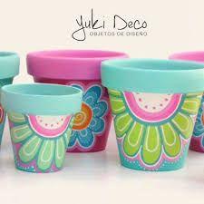 Best diy garden pots cement terra cotta 23 ideas – Modern – Keep up with the times. Flower Pot Art, Flower Pot Design, Clay Flower Pots, Flower Pot Crafts, Clay Pot Crafts, Clay Pots, Diy Flower, Diy Garden, Garden Crafts