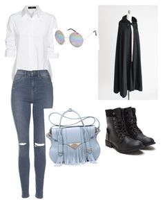 """""""Untitled #32"""" by anusharao on Polyvore featuring Steffen Schraut, Topshop, Ella Rabener and Full Tilt"""