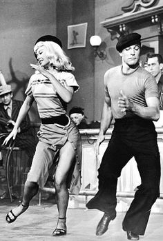 """Hoofers Gene Kelly & Vera-Ellen dancing in """"Slaughter on Avenue."""" Both were workhorses of musicals during the Golden Age of Hollywood. Just Dance, Dance Like No One Is Watching, Shall We Dance, Vera Ellen, Lindy Hop, Dance Art, Ballet Dance, Film Dance, Classic Hollywood"""