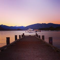Wanaka, New Zealand Lake Wanaka, New Zealand, Beautiful Homes, Celestial, Sunset, Country, Outdoor, Outdoors, Nice Houses