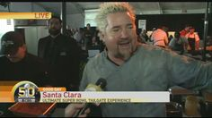 #GoodDaySB50SB #SuperBowl50 Special Edition Today in the News featuring @GuyFieri at @Bullseye_Event
