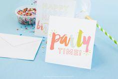 7 invitaciones gratuitas para fiestas infantiles #imprimibles #freebie #unamamanovata ❤ www.unamamanovata.com ❤