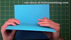 perpetual moving card http://foldsomething.com - learn how to make an infinite flipper with only 4 square sheets instead of 24... cutting and gluing required.