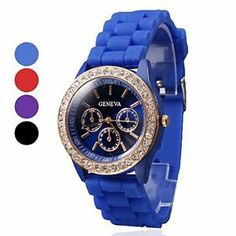 Tanboo Women's Wrist Style Silicone Analog Quartz Watch (Assorted Colors) by Tanboo. $9.99. Casual Watches. Women's Watche. Wrist Watches. Gender:Women'sMovement:QuartzDisplay:AnalogStyle:Wrist WatchesType:Casual WatchesBand Material:SiliconeBand Color:Purple, Red, Blue, BlackCase Diameter Approx (cm):4Case Thickness Approx (cm):0.8Band Length Approx (cm):24.5Band Width Approx (cm):1.8