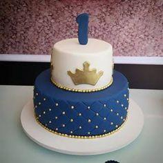 Resultado de imagen para ursinho principe festa azul marinho