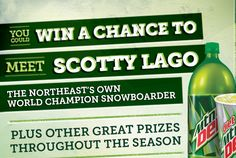 Enter to win ski lift tickets or the Grand Prize of a ski trip in Killington Vermont.  Good luck!