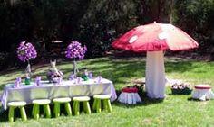 Fairy garden party decor