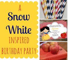A Snow White Inspired Birthday Party - 1st Birthday!!