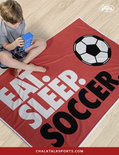 """Whether you are a soccer player, parent or fan you are sure to love this super-soft plush premium blanket, which makes for a great gift for any occasion. This thick 60"""" x 40"""" premium blanket is densely woven, luxuriously soft, and durable. Curl up after a long day and rest with this thick, versatile blanket - It's perfect for those chilly or cozy nights on the couch. Soccer Room Decor, Outdoor Games, Soccer Players, Plush, Rest, Parenting, Kids Rugs, Cozy, Fan"""