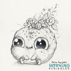 Full bloom.   #morningscribbles