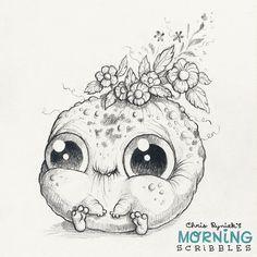Full bloom.   #morningscribbles