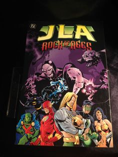 JLA: Rock of Ages. DC Softcover Graphic Novel Grant Morrison